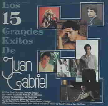 15 GRANDES EXITOS DE JUAN GABRIEL BY GABRIEL,JUAN (CD)